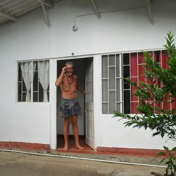 Drinking sacred yage or ayahuasca near Bogota