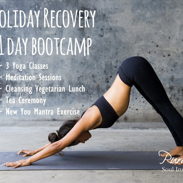 Holiday Recovery 1-Day Bootcamp