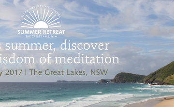 Rigpa Australia's Annual Buddhist Summer Retreat at The Great Lakes