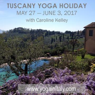 2017 Italy Yoga Holiday with Caroline Kelley