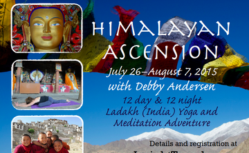 Himalayan Ascension: Ladakh (India) Yoga & Meditation Adventure with Debby Andersen