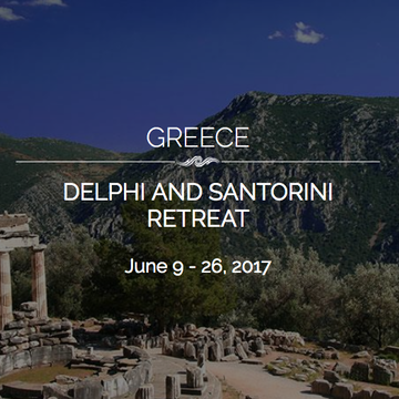 Full 18 Day Teacher Training: Delphi and Santorini Summer Solstice Greek Odyssey