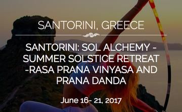 Santorini: Rasa Prana Vinyasa * Prana Danda Yoga/Vinyasa