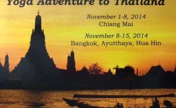 Yoga Adventure to Thailand!