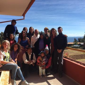 Silent Meditation Retreat at Lake Titicaca - 2017 March