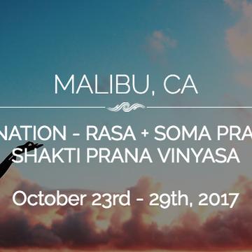 Humaliwo Fall Rejuvenation: Rasa + Soma / Shakti Prana Vinyasa