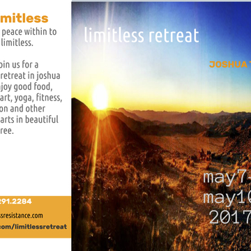 Limitless Retreat @ Joshua Tree