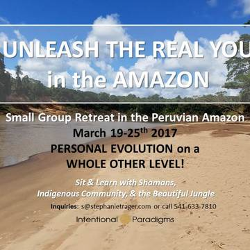 UNLEASH THE REAL YOU in the AMAZON