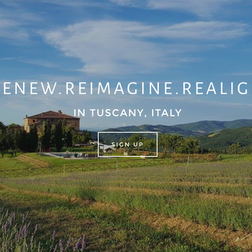 Reawaken your Body and Mind in Tuscany Italy