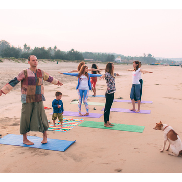 """BreatheOut 1.0"" yoga&pranayama retreat"
