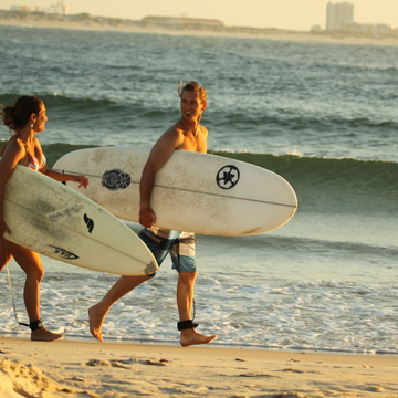 All-Girls Surf and Yoga Camp
