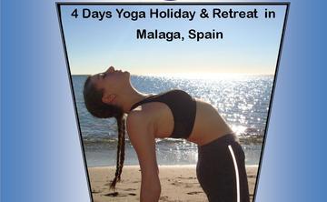 4 Days Energetic Yoga Retreat in Malaga