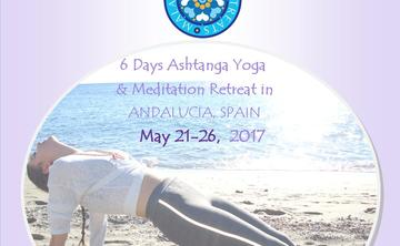 6 Days Ashtanga Yoga and Meditation Retreat in Spain May 21-26