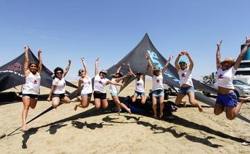 Kiteboarding & Yoga Paracas, Peru