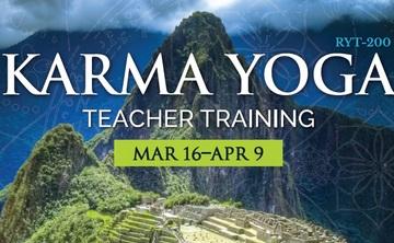 Karma Yoga Teacher Training RYT-200