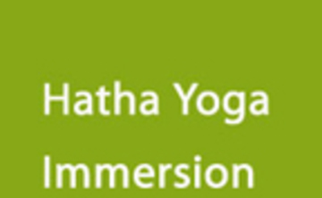 Yoga Immersion