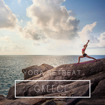 Yoga Retreat Greece with Barbra Noh & Friends