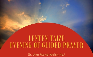 Lenten Taize Evening of Guided Prayer