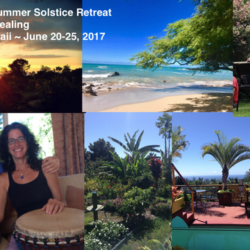 Heartbeat of Gaia ~ Summer Solstice Retreat, Big Island, Hawaii, June 20-25, 2017