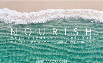 N O U R I S H  -  A Yoga & Ayurveda Retreat