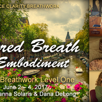 Amsterdam Clarity Breathwork Level 1: Sacred Breath & Embodiment @ NaarZee
