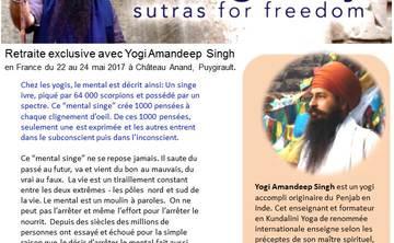 French retreat with Yogi Amandeep Singh