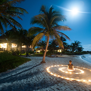 Beachfront Yoga Retreat at Maya Tulum Mexico