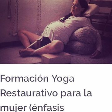 restorative yoga for women in Colombia yoga teacher training prenatal and postnatal