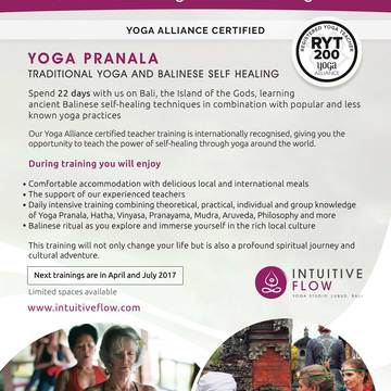 200 Hour Intensive Yoga Pranala Teacher Training