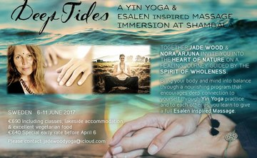 DEEP TIDES – YIN YOGA & ESALEN inspired MASSAGE IMMERSION