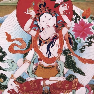 Dorje Yudrönma: Protectress of Divination (Empowerment and Teachings) and White Tara with Consort Practice & Tibetan Yoga for Longevity