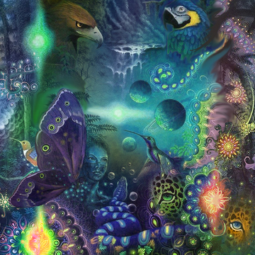 3 day 2 Night Ayahuasca vine only detox retreat- July 21-23