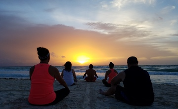 New Year Eve Law of Attraction Luxury Yoga Tulum Exclusive Retreat