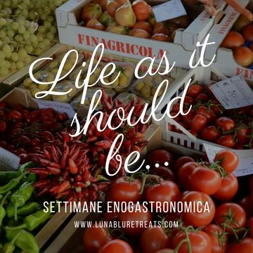 Settimane Enogastronomica (Food, Wine & Fun)