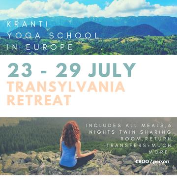 Inspiring The Teacher Transylvania Retreat
