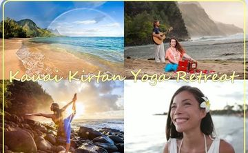 5 Day Kirtan Yoga Retreat on Kauai Hawaii