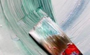 Abstract Acrylics Class at July #1 Retreat