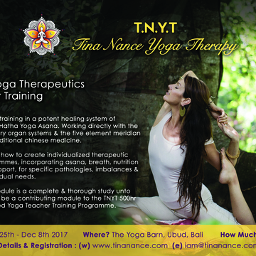 TNYT 100hr Yoga Therapeutics Teacher Training