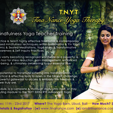 TNYT 100HR MINDFULNESS YOGA TEACHER TRAINING