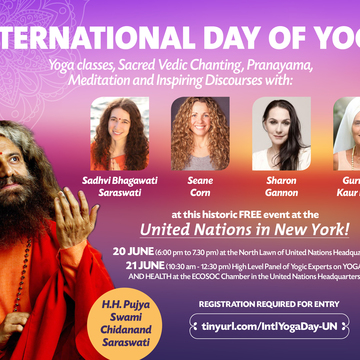 International Day of Yoga at the UN!