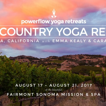 Wine Country Yoga Retreat in Sonoma Valley, California