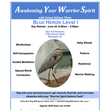 """Awaken Your Warrior Spirit"" Retreat"