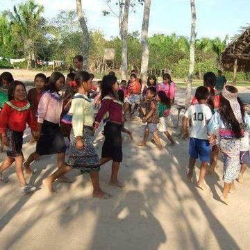 Santa Clara Shipibo Indian Village, near Pucallpa