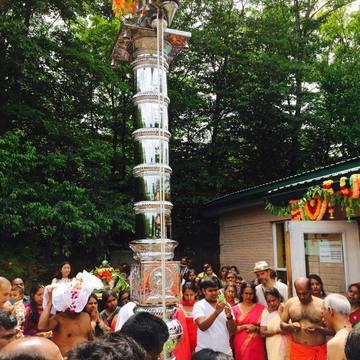 Cérémonie de fermeture du temple Subramanya Ayyappa