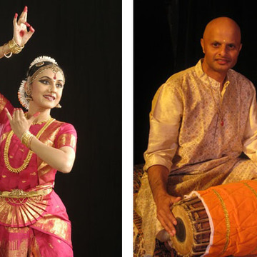 Bharatanatyam with Mridangam Concert