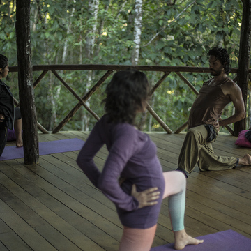 RYT-200 TTC Hands on Adjustments Hatha & Vinayasa Yoga Teacher Training in the High Peruvian Amazon Jungle!