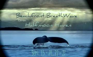 Beachfront Breathwave Facilitators Training at Halfmoon Haven