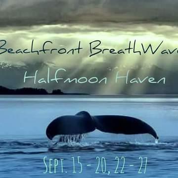 Beachfront Breathwave Facilitators Training at Halfmoon Haven