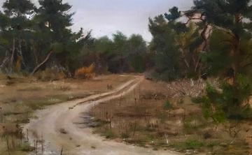 Plein Air Painting in Chianti Rufina