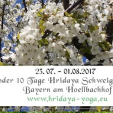 5- or 10-Day German-Language Hridaya Silent Meditation Retreat in Germany